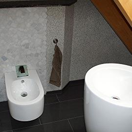 Gäste WC Neubau  Renovierung Sanierung von Novik Design in Müllheim